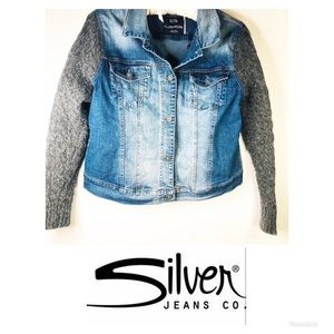 Silver Jeans Co. | Jean Denim Jacket XL